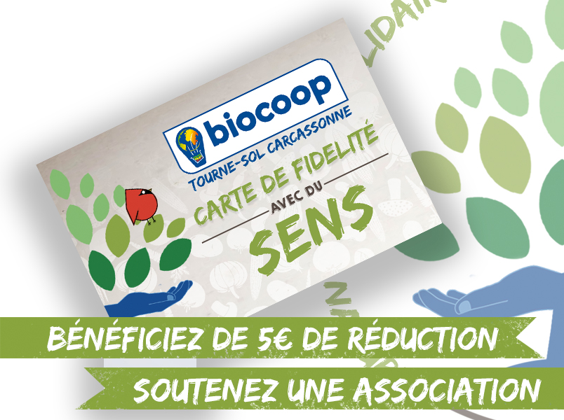 La Carte Biocoop Tourne Sol Arrive Dans Votre Magasin Le 01 Fvrier 2018